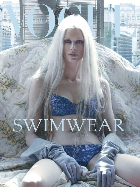 Изображение 2. Обложки Vogue: Британия и Италия.. Изображение № 2.