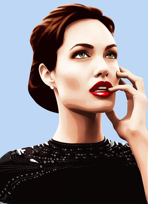 Три грации. Первая – Анджелина Джоли.  . Изображение № 5.