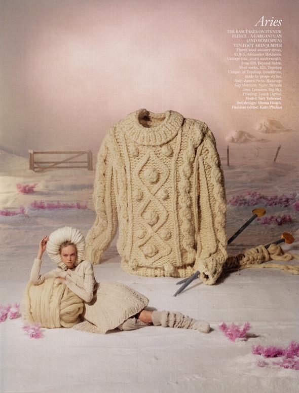 Гороскоп от Британского Vogue. Изображение № 1.