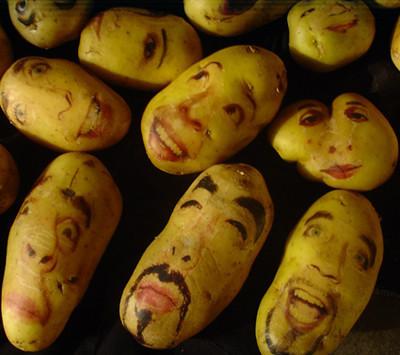 Картофельные портреты. Изображение № 7.