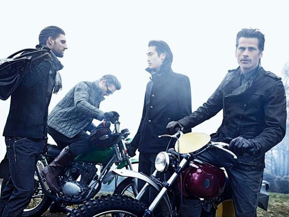 Кампания: Hugo Boss Black Sportswear FW 2011. Изображение № 3.