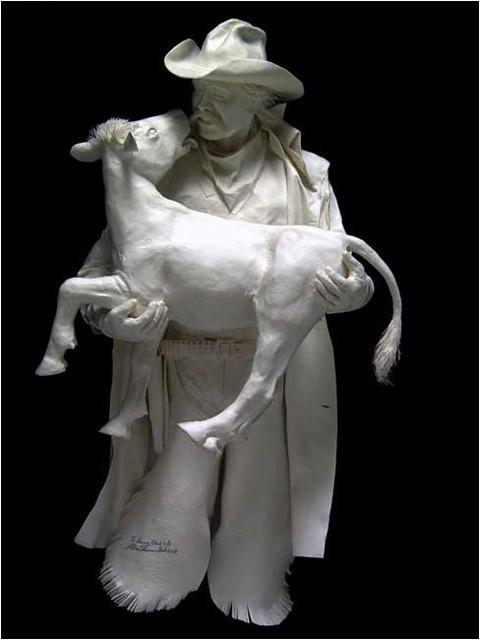 Бумажные скульптуры. Изображение № 43.