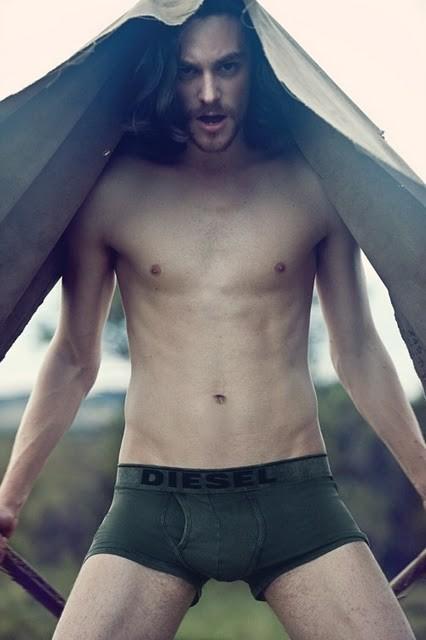 Кампания: Diesel Fall 2011 Underwear. Изображение № 13.