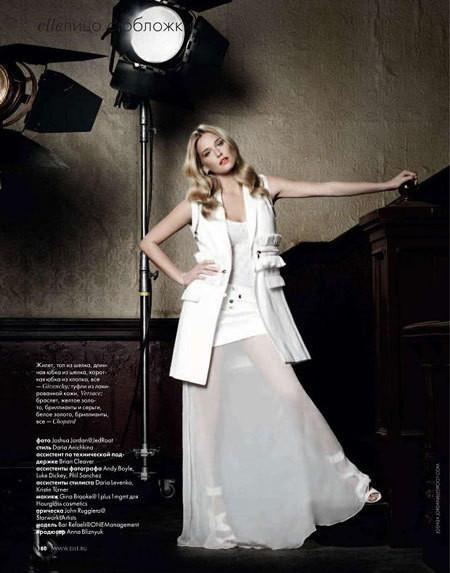 Изображение 3. Bar Refaeli в Dolce&Gabbana для ELLE Россия Март 2011.. Изображение № 3.
