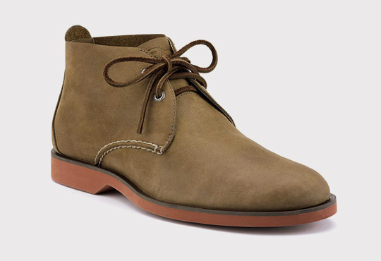Sperry Top-Sider Cloud Logo Boat Oxford Desert Boot. Изображение № 1.