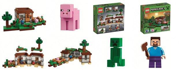 Российский магазин «слил» в Сеть новые наборы Lego Minecraft . Изображение № 3.