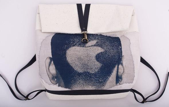 БЕЛОЕ — рюкзаки и сумки из грубого белого хлопка. Изображение № 7.