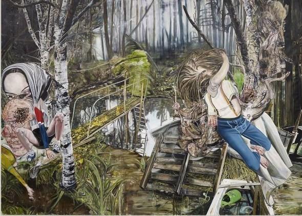 """""""Искусство расширенного сознания"""" в полотнах швейцарского художника. Изображение № 5."""