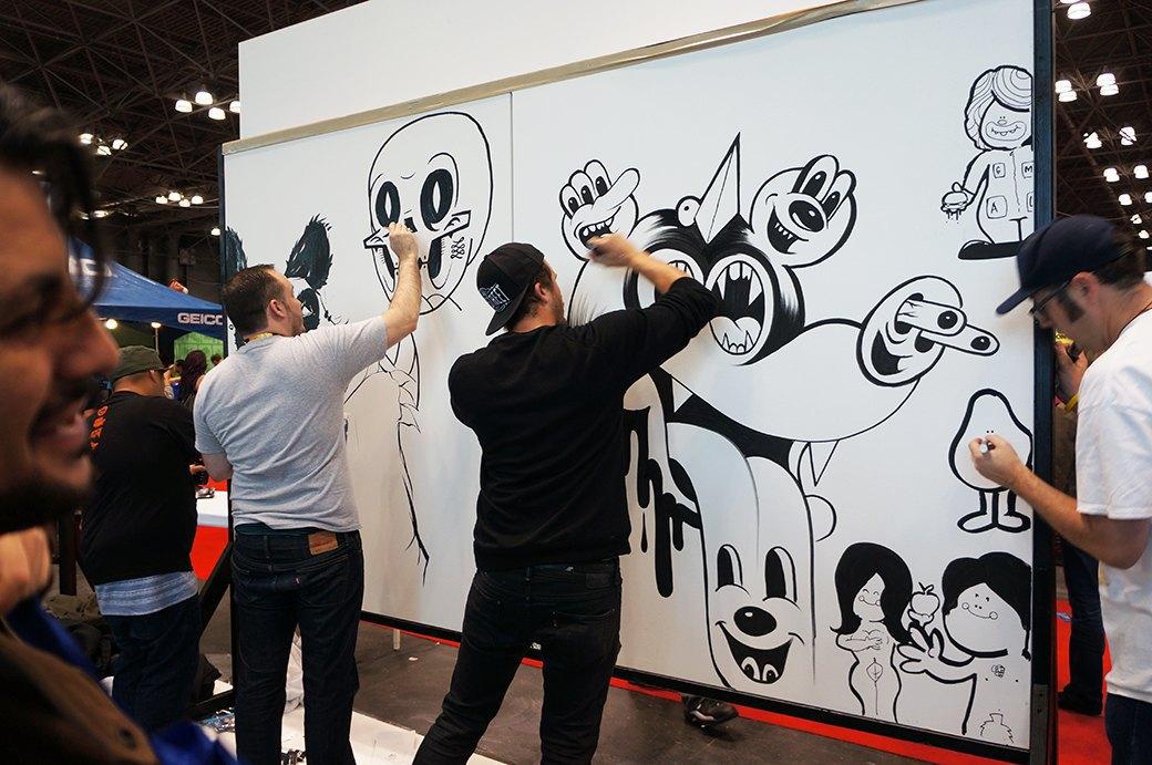 Как прошёл гик-фестиваль NYC Comic-Con  в Нью-Йорке. Изображение № 4.