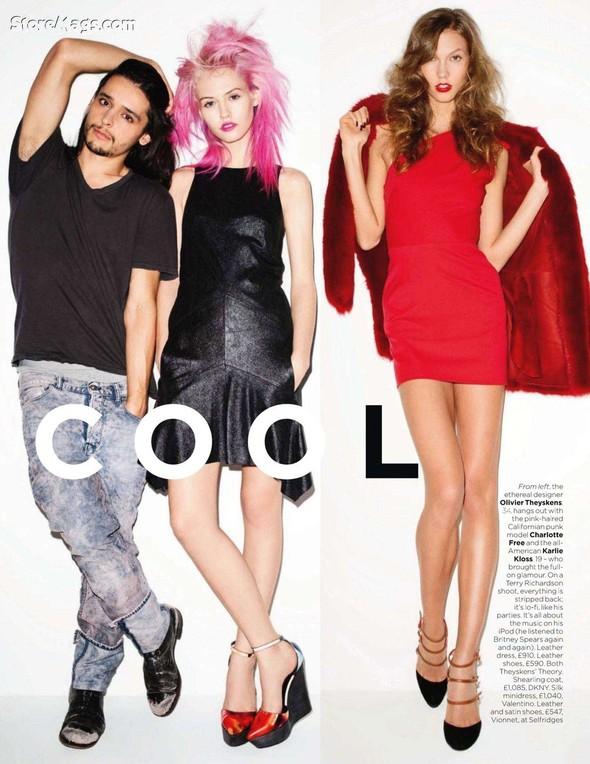 Съёмка: Терри Ричардсон для британского Vogue. Изображение № 2.