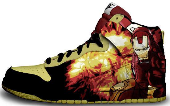 Метаморфозы белых кроссовок Nike. Изображение № 18.
