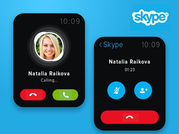 Концепт приложения Skype. Автор: Valik Boyev. Изображение № 19.