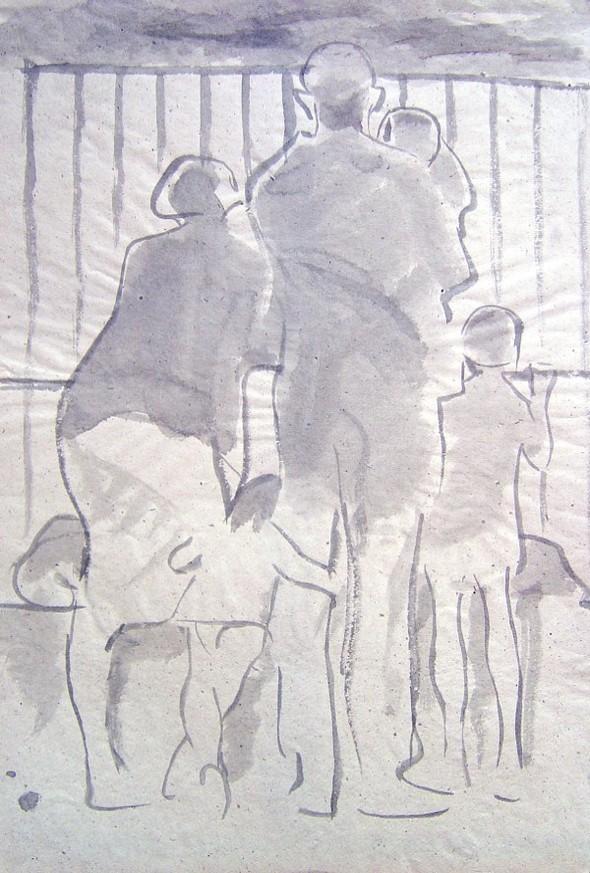 Леонид Сойфертис. рисунок, карикатура. Изображение № 23.