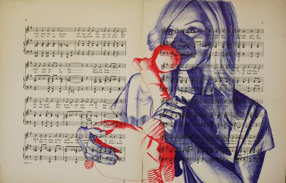 В пространстве рисунка: четыре художника. Изображение № 7.