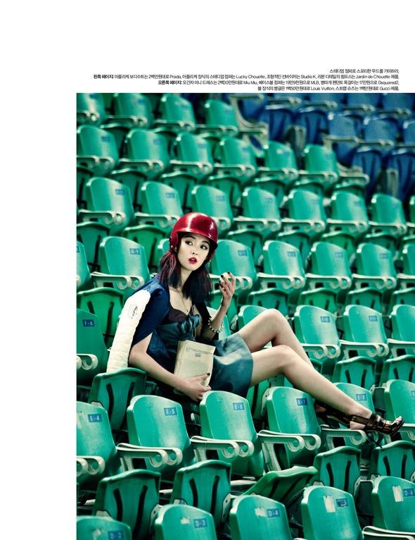 Быстрее, выше, сильнее: Модные съемки, вдохновленные спортом. Изображение №103.