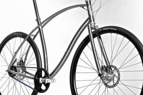 Титановые велосипеды от Paul Budnitz. Изображение № 6.