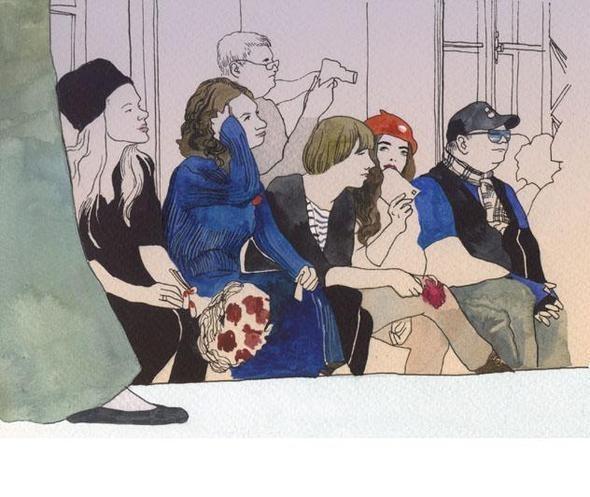 Изображение 24. Что происходит, когда иллюстратора пускают на модный показ.. Изображение № 22.