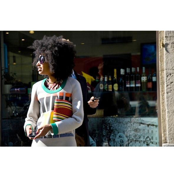 Изображение 66. На полях: 10 тенденций уличного стиля с прошедших недель моды.. Изображение № 66.