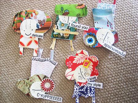 Бумажные куклы ипростые девичьи радости. Изображение № 7.