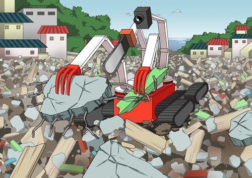 В Японии создали робота-«осьминога» для работ на«Фукусиме-1». Изображение № 5.