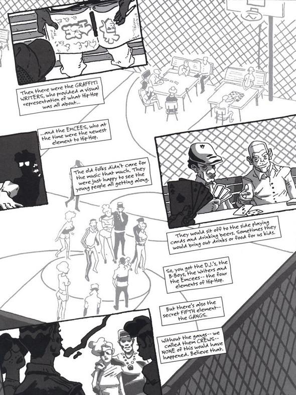 Комиксы легенды хип-хопа. Изображение № 19.