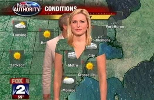 Почему метеорологам нельзя носить зеленую одежду?. Изображение № 6.