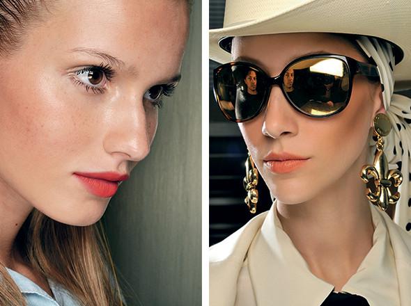Изображение 20. Красная стрела: тенденции макияжа SS 2011.. Изображение № 5.