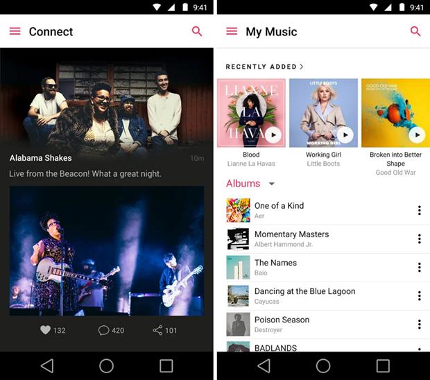 Apple Music появился на Android с3 бесплатными месяцами. Изображение № 3.