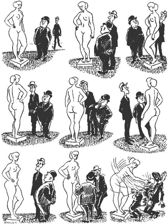 Карикатура какиллюстрация жизни. Изображение № 6.