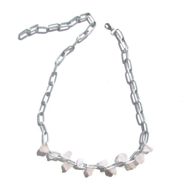Ожерелья из цепей гаек и сантехнического шнура. Часть1. Изображение № 9.