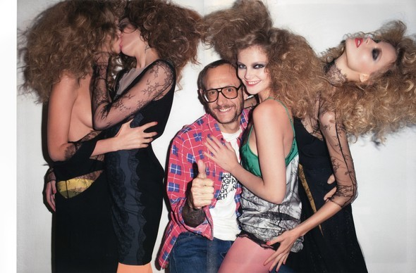 Purple Fashion: Best of the season by Terry Richardson. Изображение № 4.