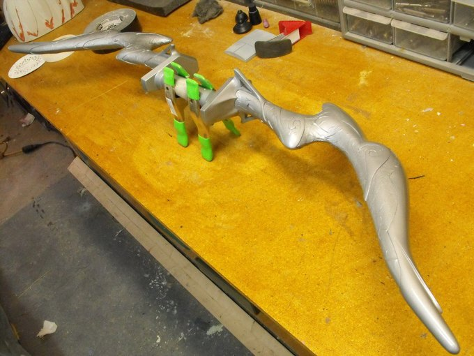 Дизайнер изготовил лук из Skyrim. Изображение № 23.