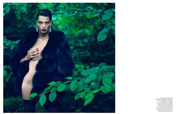 Новые съемки Dazed & Confused, Vogue, i-D и W Magazine. Изображение № 31.