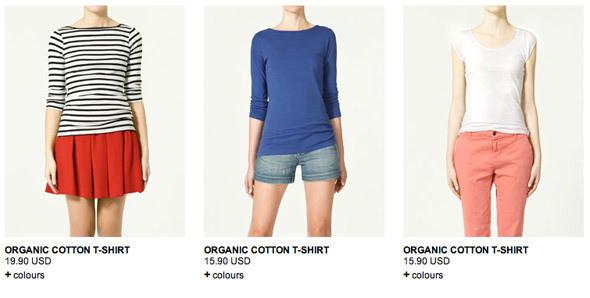 Вещи Zara из органического хлопка. Изображение № 5.