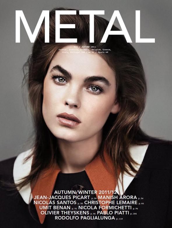 Обложки: Бэмби Нортвуд-Блит для Metal и Скарлетт Йоханссон для S Moda. Изображение № 1.