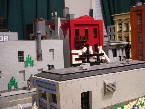 Изображение 10. Улицы Нью-Йорка из конструктора LEGO.. Изображение № 10.