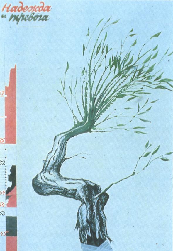 Искусство плаката вРоссии 1884–1991 (1991г, часть 5-я). Изображение № 18.