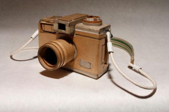 Картонные фотокамеры Киля Джонсона. Изображение № 10.