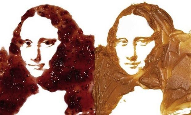Леонардо да Винчи x арахисовое масло и джем. Изображение №3.