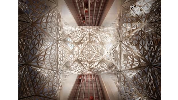 Заха Хадид представила проект скульптурного отеля. Изображение № 4.
