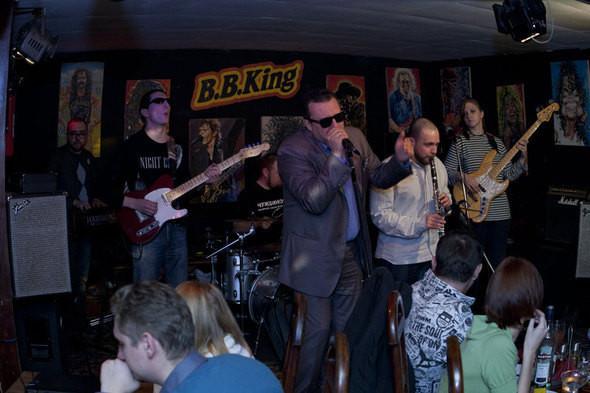 Изображение 1. Mishouris Blues Band в клубе B B King в декабре 2010 Часть 2.. Изображение № 1.