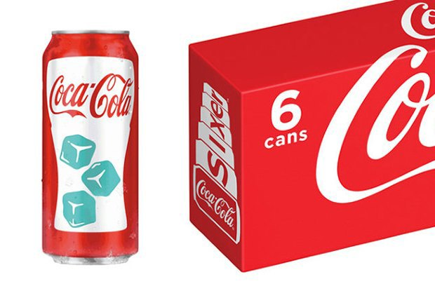 Новые банки «Кока-Кола» показывают температуру напитка. Изображение № 1.