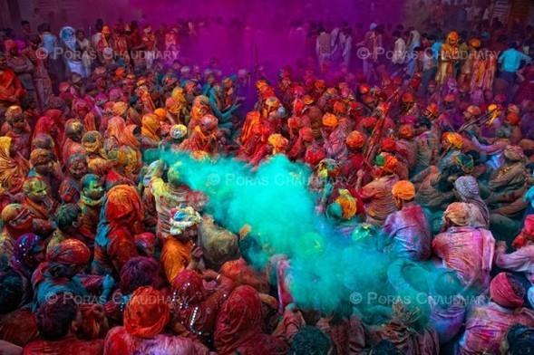 Торжество цвета. Poras Chaudhary. Изображение № 5.