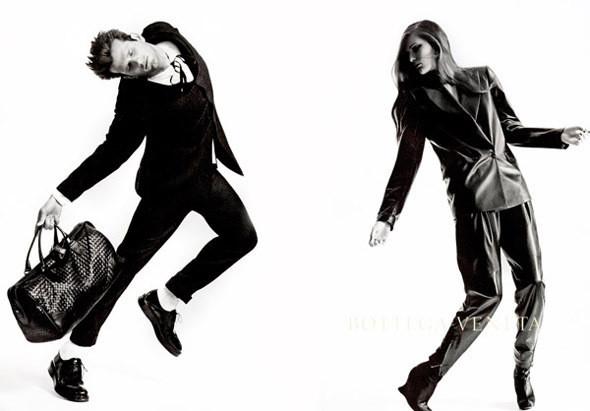 Рекламная кампания Bottega Veneta FW 2010, фотограф Роберт Лонго. Изображение № 12.