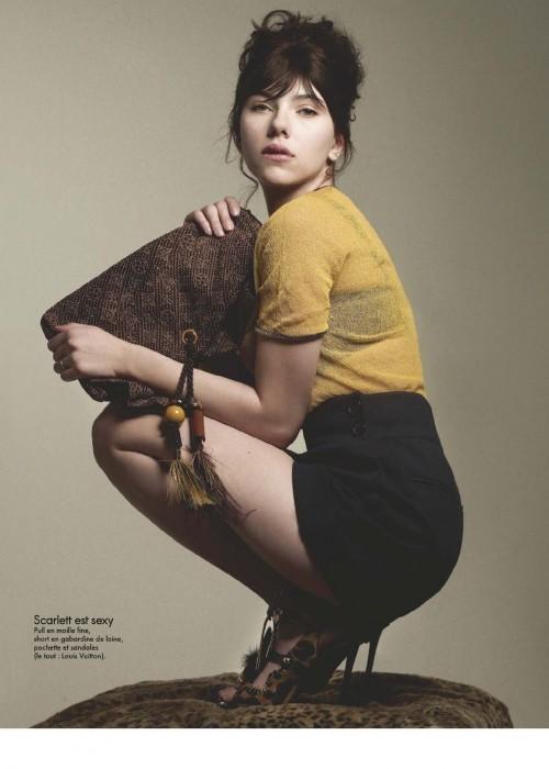 Scarlett Johansson, Elle France June 2009. Изображение № 2.