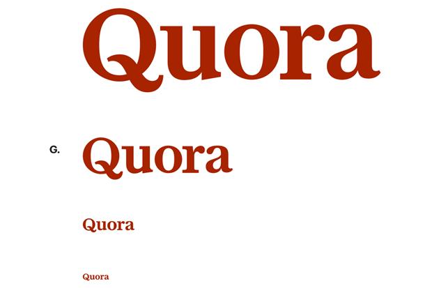 Шрифтовик рассказал о процессе редизайна логотипа Quora. Изображение № 8.