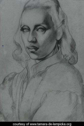 Тамара де Лемпицка – художница и икона Арт Деко. Изображение № 1.