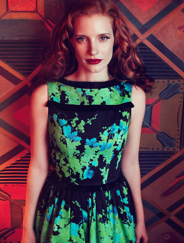 Съёмки: Harper's Bazaar, Interview, Vogue и другие. Изображение № 25.