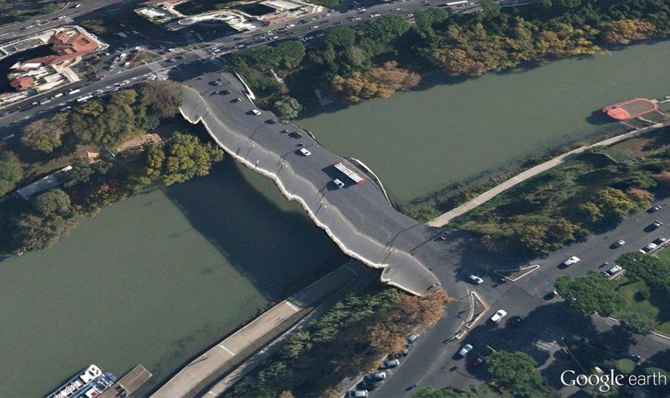 32 фотографии из Google Earth, противоречащие здравому смыслу. Изображение №2.