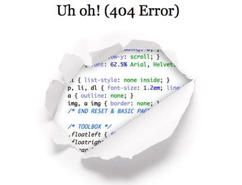 20 Интересных оформлений страницы ошибки 404. Изображение № 15.
